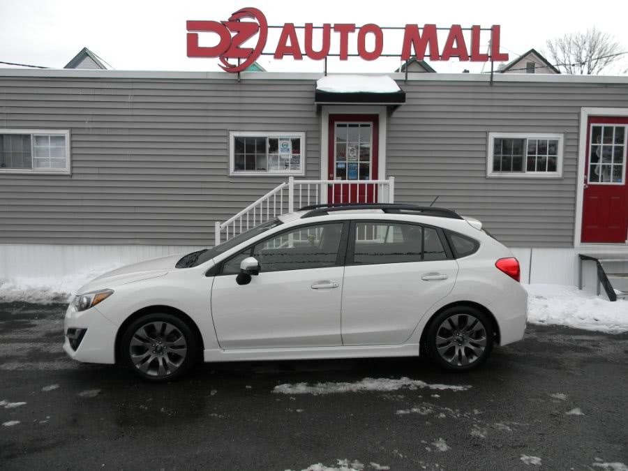 Used Subaru Impreza Wagon 5dr Man 2.0i Sport Premium 2015 | DZ Automall. Paterson, New Jersey