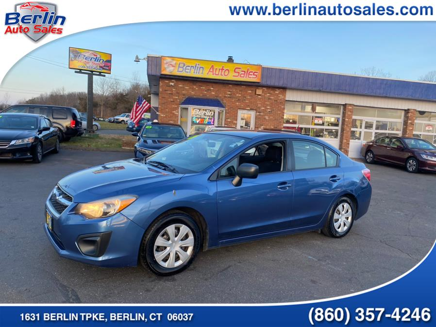 Used 2014 Subaru Impreza Sedan in Berlin, Connecticut | Berlin Auto Sales LLC. Berlin, Connecticut