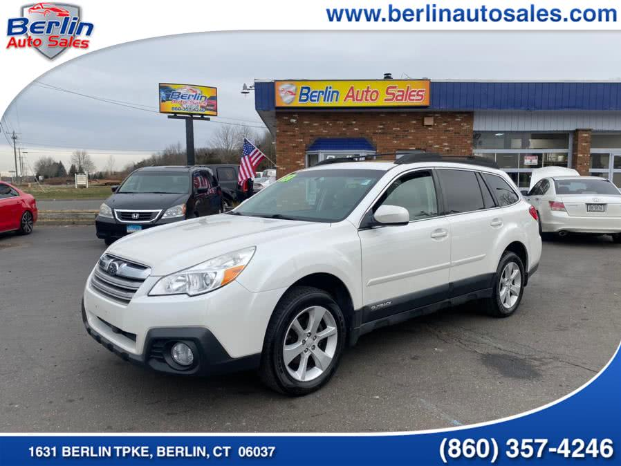Used Subaru Outback 4dr Wgn H4 Auto 2.5i Premium 2013 | Berlin Auto Sales LLC. Berlin, Connecticut