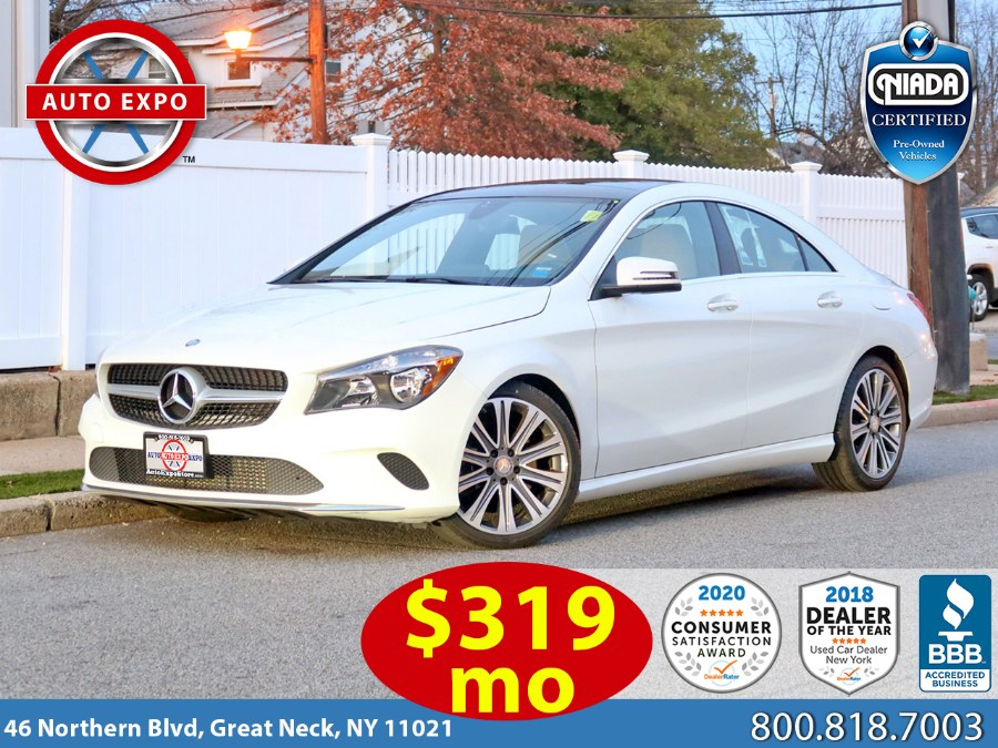 Used 2017 Mercedes-benz Cla in Great Neck, New York   Auto Expo Ent Inc.. Great Neck, New York