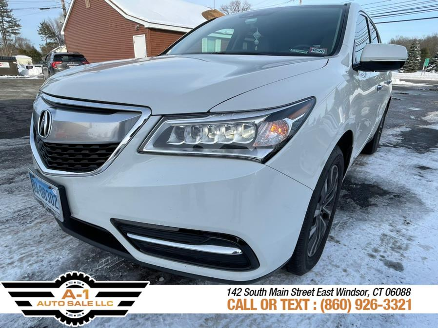 Used 2016 Acura MDX in East Windsor, Connecticut | A1 Auto Sale LLC. East Windsor, Connecticut