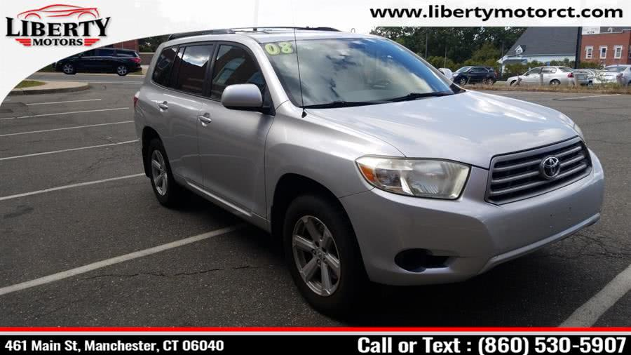 Used 2008 Toyota Highlander in Manchester, Connecticut | Liberty Motors. Manchester, Connecticut