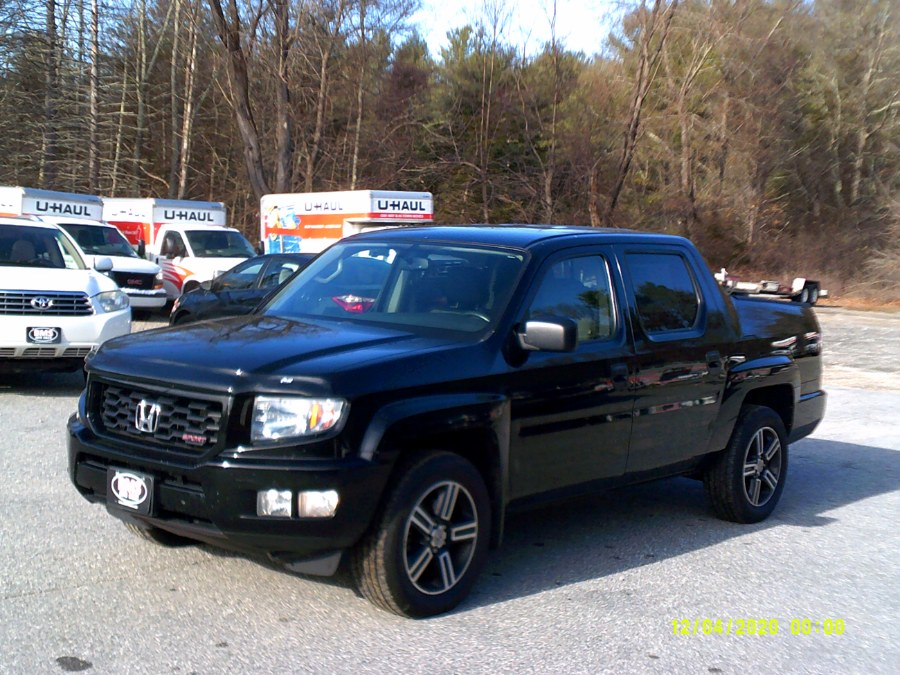 Used Honda Ridgeline 4WD Crew Cab Sport 2013 | Brooklyn Motor Sports Inc. Brooklyn, Connecticut