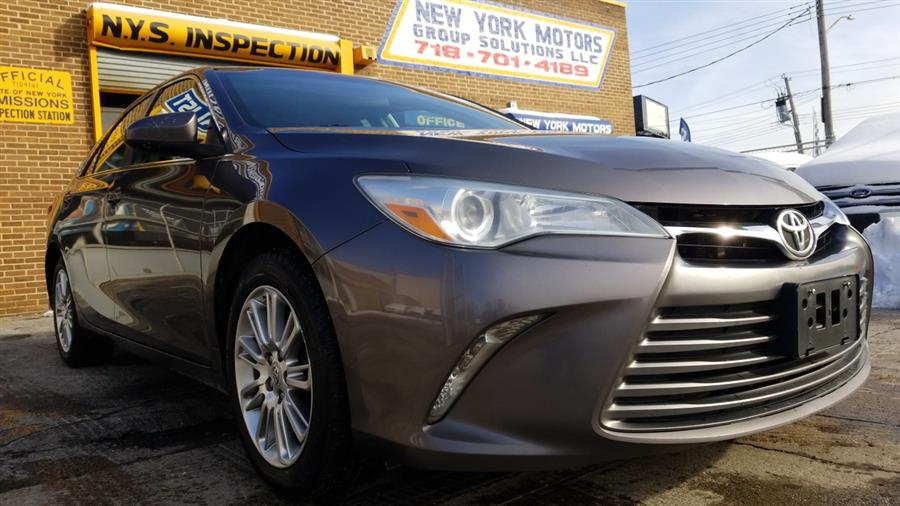 Used Toyota Camry 4dr Sdn I4 Auto XLE (Natl) 2015 | New York Motors Group Solutions LLC. Bronx, New York