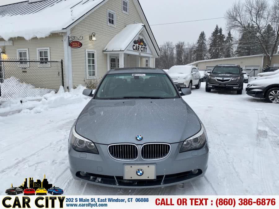 Used BMW 5 Series 4dr Sdn 530i RWD 2007 | Car City LLC. East Windsor, Connecticut