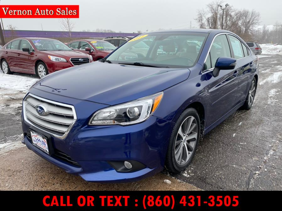 Used Subaru Legacy 2.5i Limited 2017 | Vernon Auto Sale & Service. Manchester, Connecticut