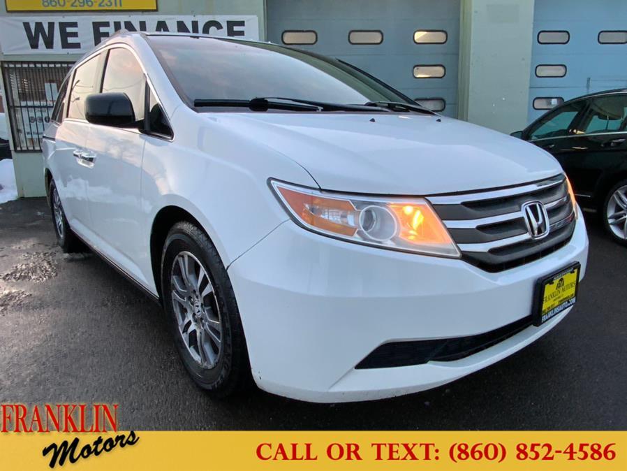 Used Honda Odyssey 5dr EX-L w/Navi 2012 | Franklin Motors Auto Sales LLC. Hartford, Connecticut