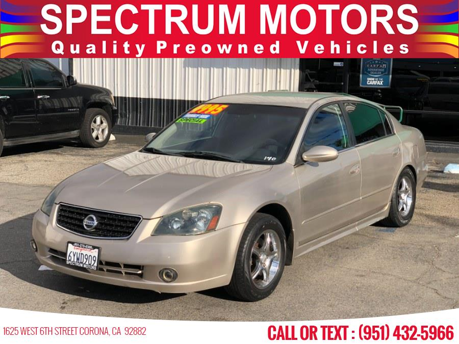 Used 2005 Nissan Altima in Corona, California | Spectrum Motors. Corona, California