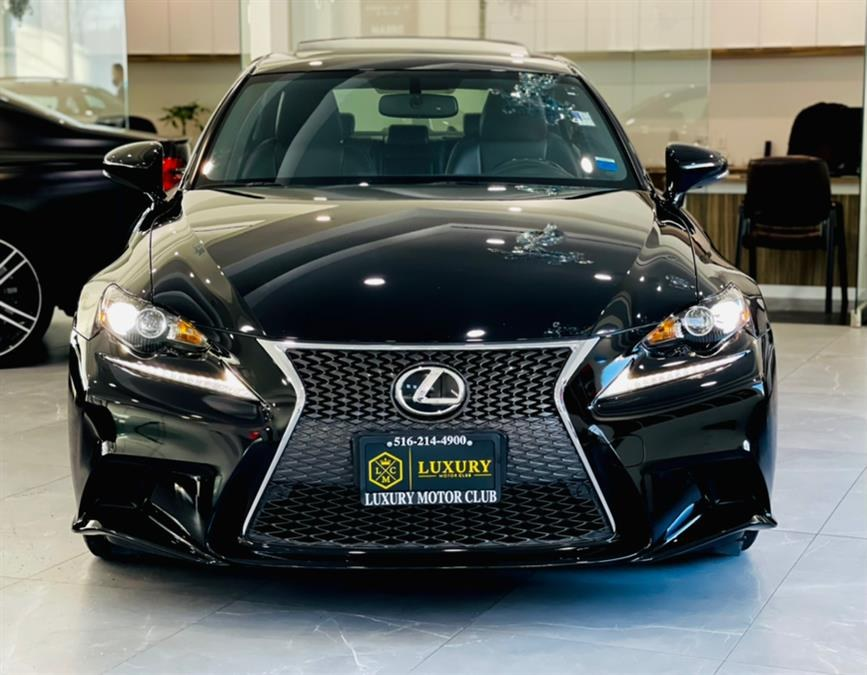 Used Lexus IS 250 4dr Sport Sdn Crafted Line AWD 2015 | Luxury Motor Club. Franklin Square, New York