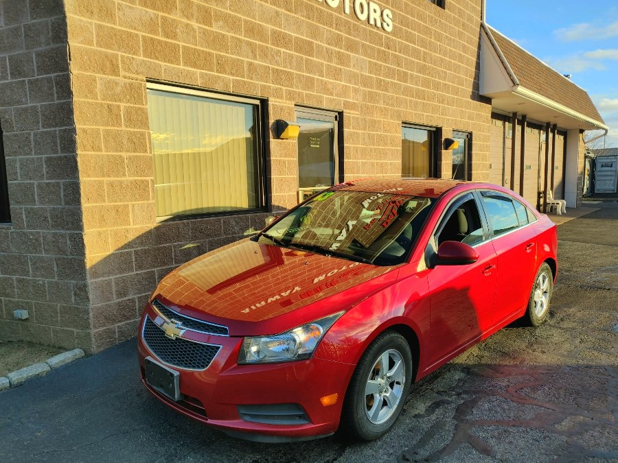 2013 Chevrolet Cruze 4dr Sdn Auto 1LT, available for sale in Bridgeport, CT