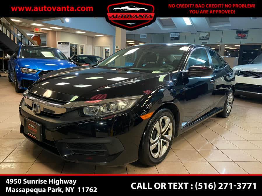 Used Honda Civic Sedan LX CVT 2018 | Autovanta. Massapequa Park, New York