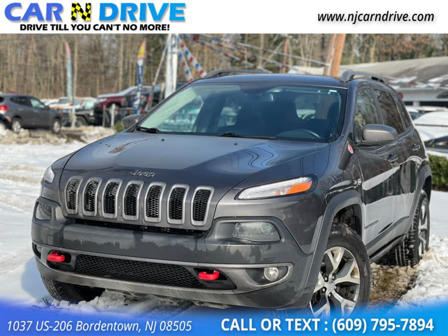 Used Jeep Cherokee Trailhawk 4WD 2017 | Car N Drive. Bordentown, New Jersey