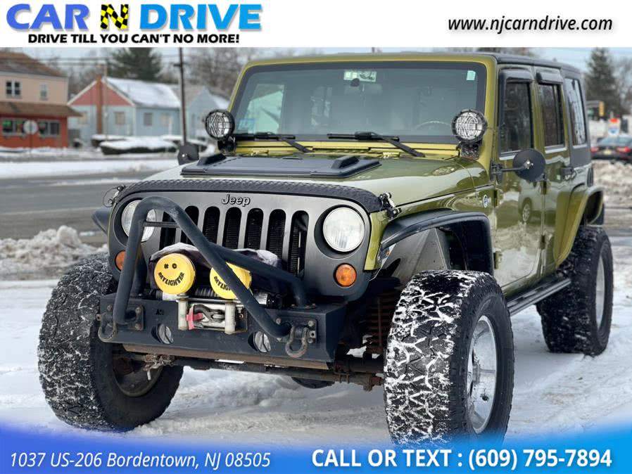 Used Jeep Wrangler Unlimited Sahara 4WD 2007 | Car N Drive. Bordentown, New Jersey