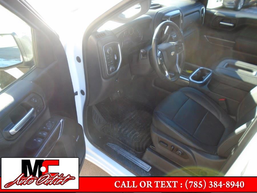 "Used Chevrolet Silverado 1500 4WD Crew Cab 147"" LTZ 2019 | M C Auto Outlet Inc. Colby, Kansas"