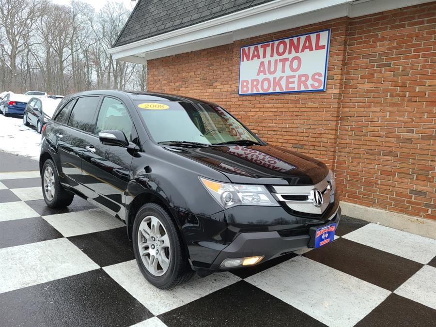 Used Acura MDX 4WD 4dr Tech/Dvd Pkg 2008 | National Auto Brokers, Inc.. Waterbury, Connecticut