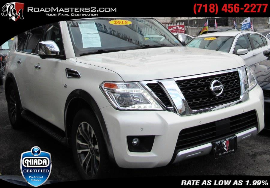 Used 2018 Nissan Armada in Middle Village, New York | Road Masters II INC. Middle Village, New York