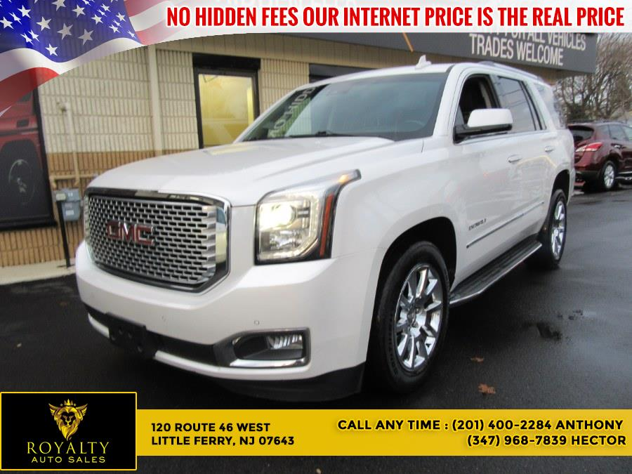 Used 2016 GMC Yukon in Little Ferry, New Jersey | Royalty Auto Sales. Little Ferry, New Jersey