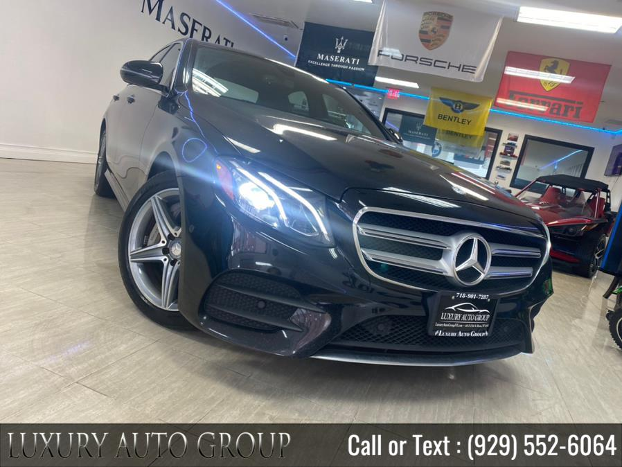 Used 2017 Mercedes-Benz E-Class in Bronx, New York | Luxury Auto Group. Bronx, New York