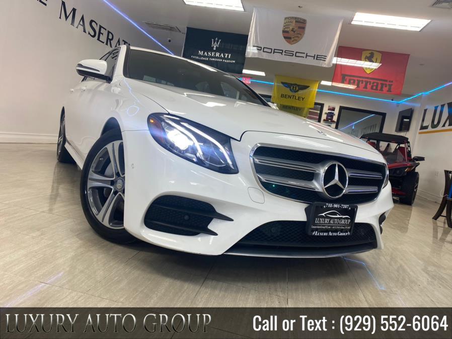 Used Mercedes-Benz E-Class E 300 Sport 4MATIC Sedan 2017 | Luxury Auto Group. Bronx, New York