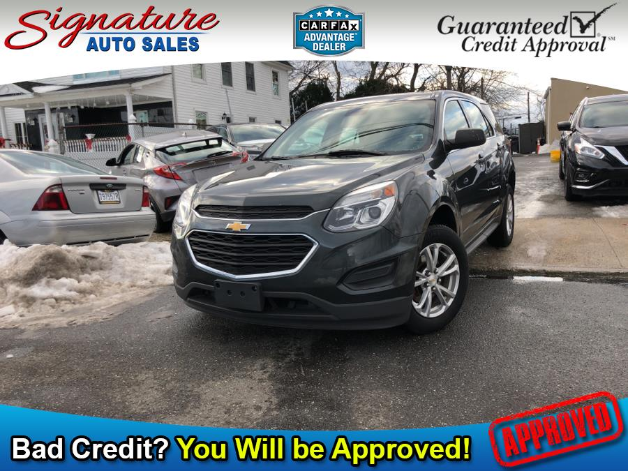 Used 2017 Chevrolet Equinox in Franklin Square, New York | Signature Auto Sales. Franklin Square, New York