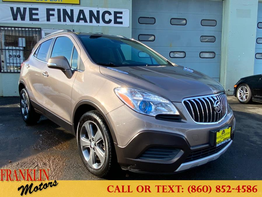 Used 2014 Buick Encore in Hartford, Connecticut | Franklin Motors Auto Sales LLC. Hartford, Connecticut