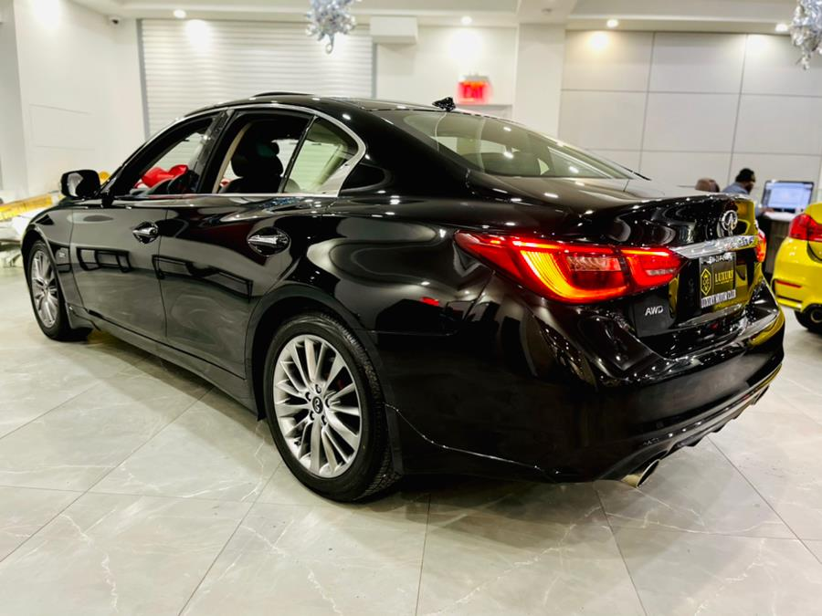 Used INFINITI Q50 3.0t LUXE AWD 2018 | Luxury Motor Club. Franklin Square, New York