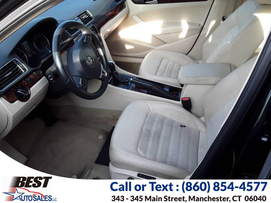 Used Volkswagen Passat 4dr Sdn 2.5L Auto SEL Premium PZEV 2012 | Best Auto Sales LLC. Manchester, Connecticut