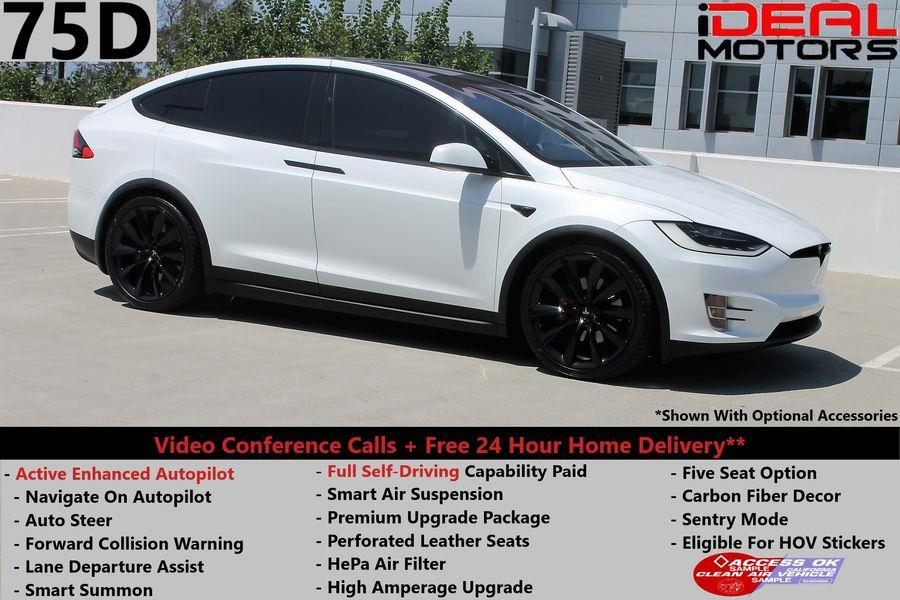 Used 2016 Tesla Model x in Costa Mesa, California | Ideal Motors. Costa Mesa, California