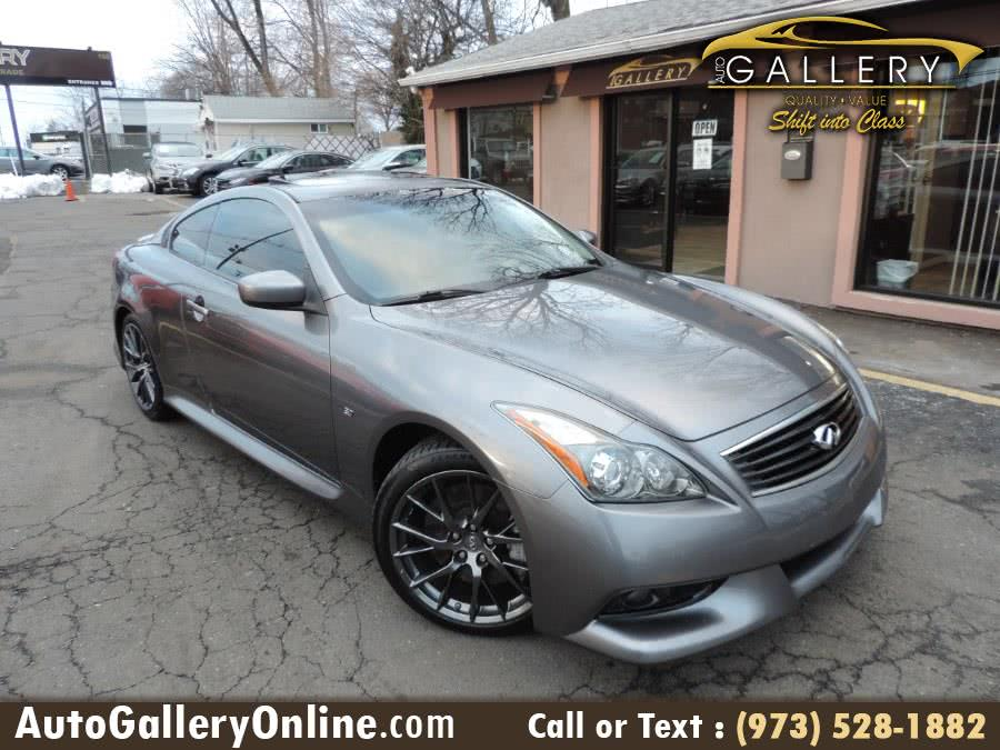 Used Infiniti Q60 Coupe 2dr Man Sport IPL RWD 2014 | Auto Gallery. Lodi, New Jersey