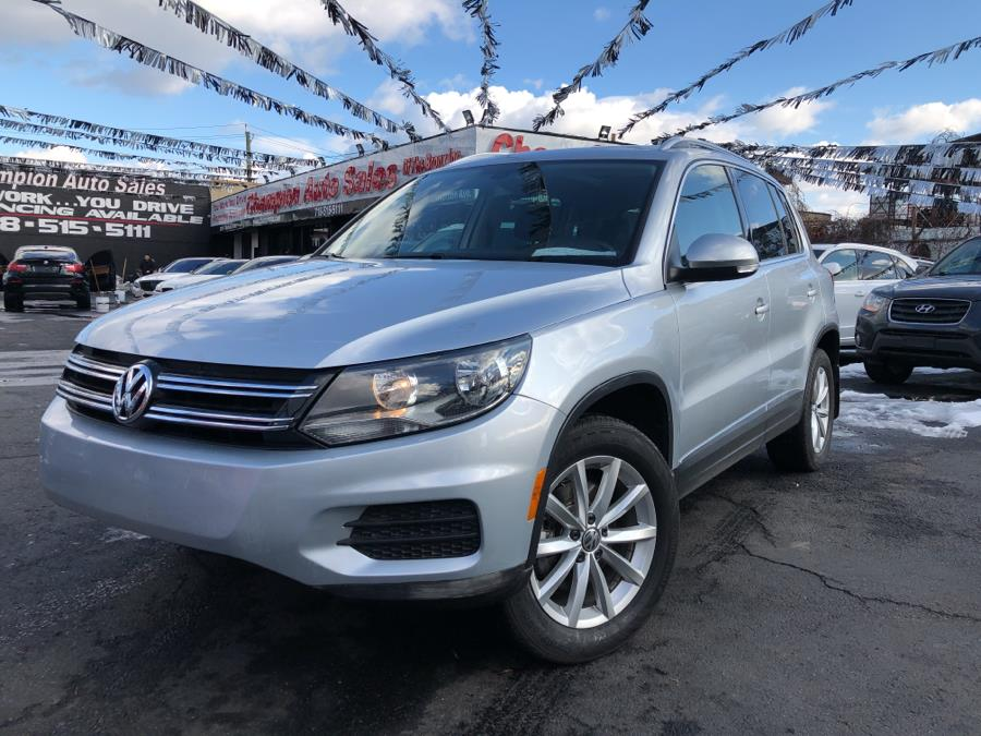 Used Volkswagen Tiguan 2.0T Wolfsburg Edition 4MOTION 2017 | Champion Auto Sales Of The Bronx. Bronx, New York