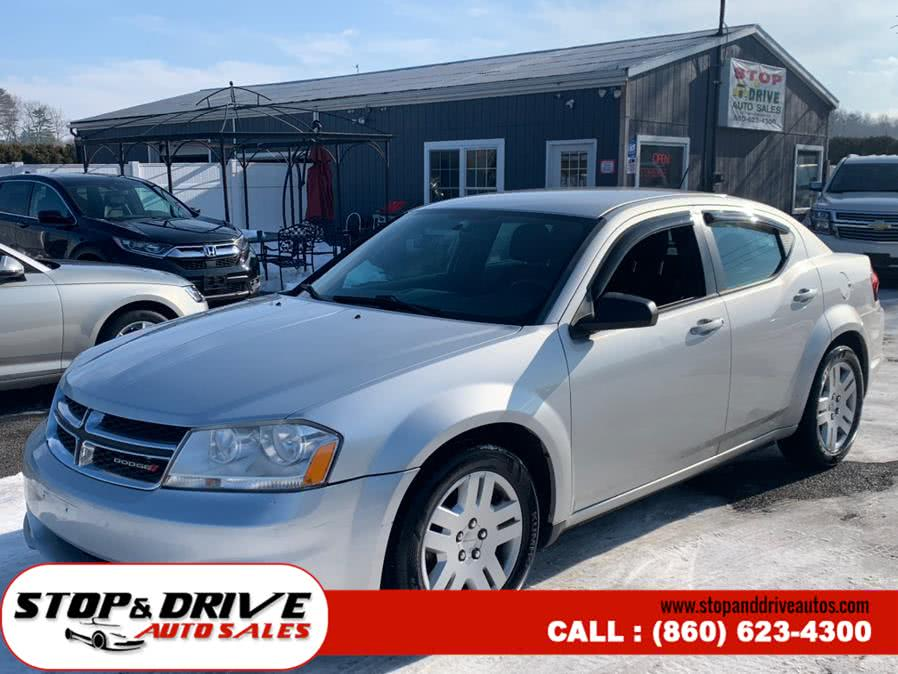 Used Dodge Avenger 4dr Sdn SE 2012 | Stop & Drive Auto Sales. East Windsor, Connecticut