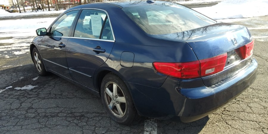 Used Honda Accord Sdn EX-L AT PZEV 2005   Payless Auto Sale. South Hadley, Massachusetts
