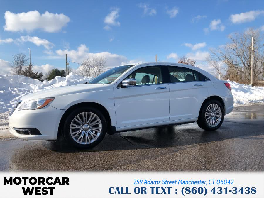 Used Chrysler 200 4dr Sdn Limited 2011   Motorcar West. Manchester, Connecticut