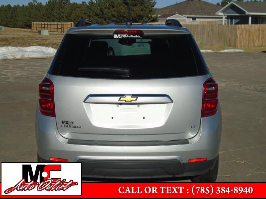 Used Chevrolet Equinox FWD 4dr LT w/1LT 2017   M C Auto Outlet Inc. Colby, Kansas