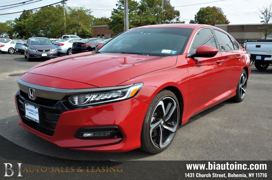 Used Honda Accord Sedan Sport 1.5T CVT 2019 | B I Auto Sales. Bohemia, New York