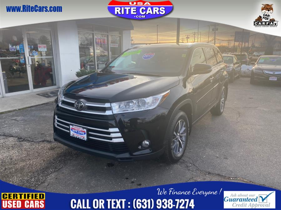 Used Toyota Highlander XLE V6 AWD (Natl) 2017 | Rite Cars, Inc. Lindenhurst, New York
