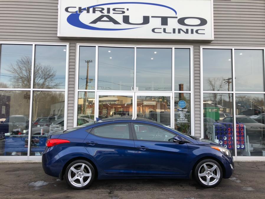 Used Hyundai Elantra 4dr Sdn Auto GLS 2013 | Chris's Auto Clinic. Plainville, Connecticut