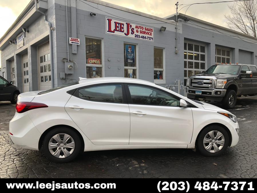Used 2016 Hyundai Elantra in North Branford, Connecticut | LeeJ's Auto Sales & Service. North Branford, Connecticut