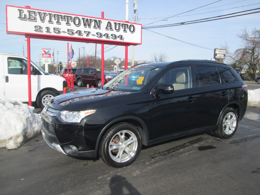 Used 2015 Mitsubishi Outlander in Levittown, Pennsylvania | Levittown Auto. Levittown, Pennsylvania