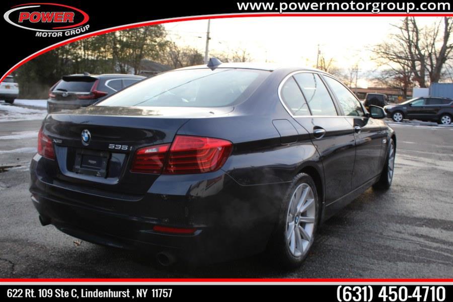 Used BMW 5 Series 4dr Sdn 535i xDrive AWD 2014 | Power Motor Group. Lindenhurst , New York