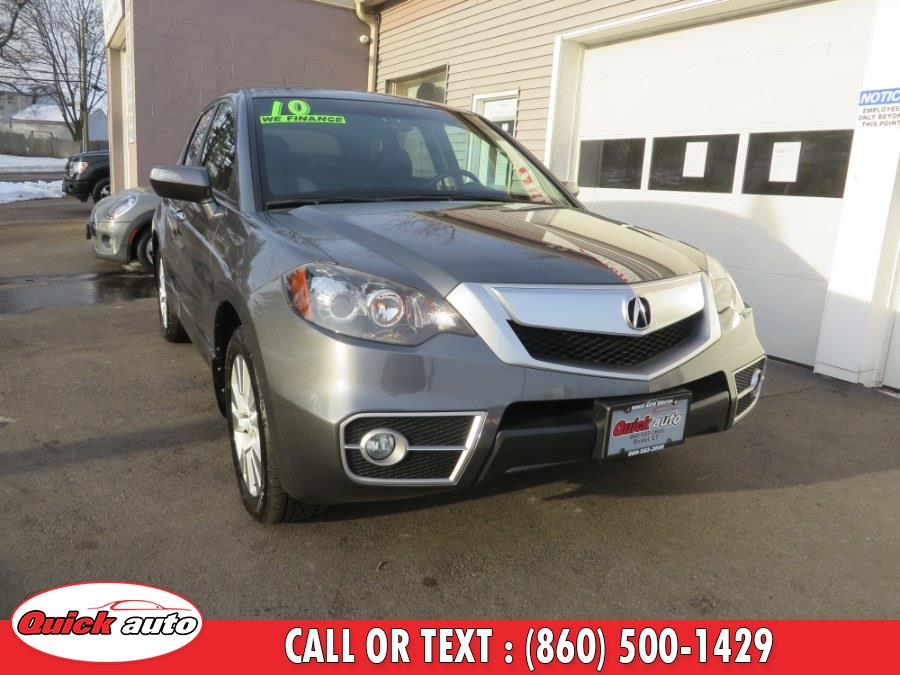 Used 2010 Acura RDX in Bristol, Connecticut | Quick Auto LLC. Bristol, Connecticut