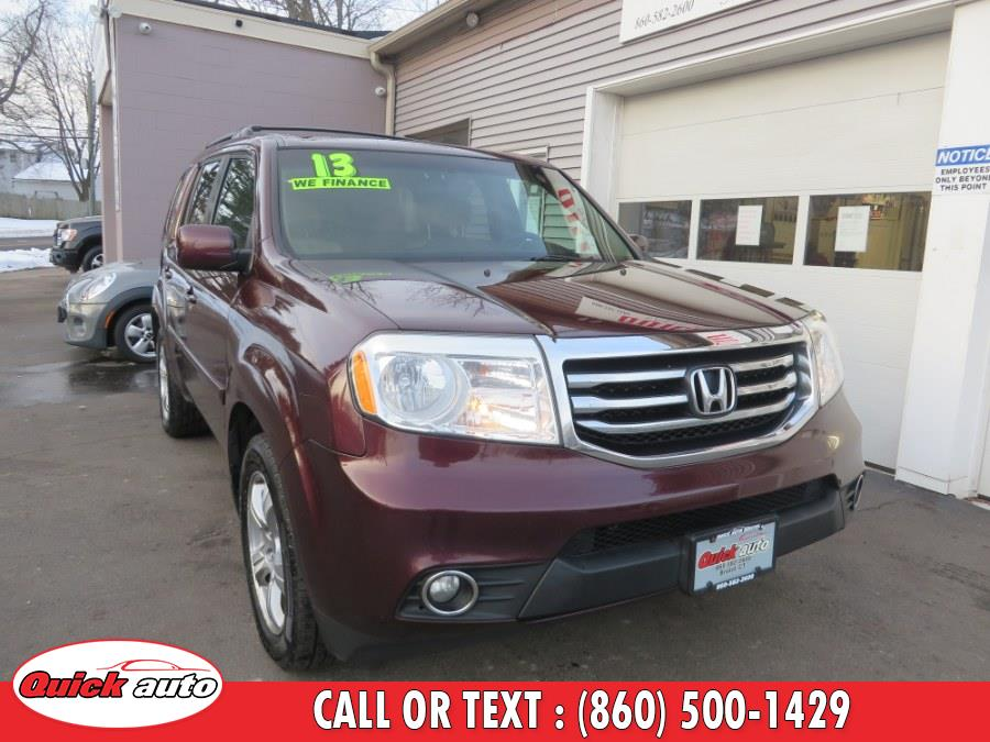 Used 2013 Honda Pilot in Bristol, Connecticut | Quick Auto LLC. Bristol, Connecticut