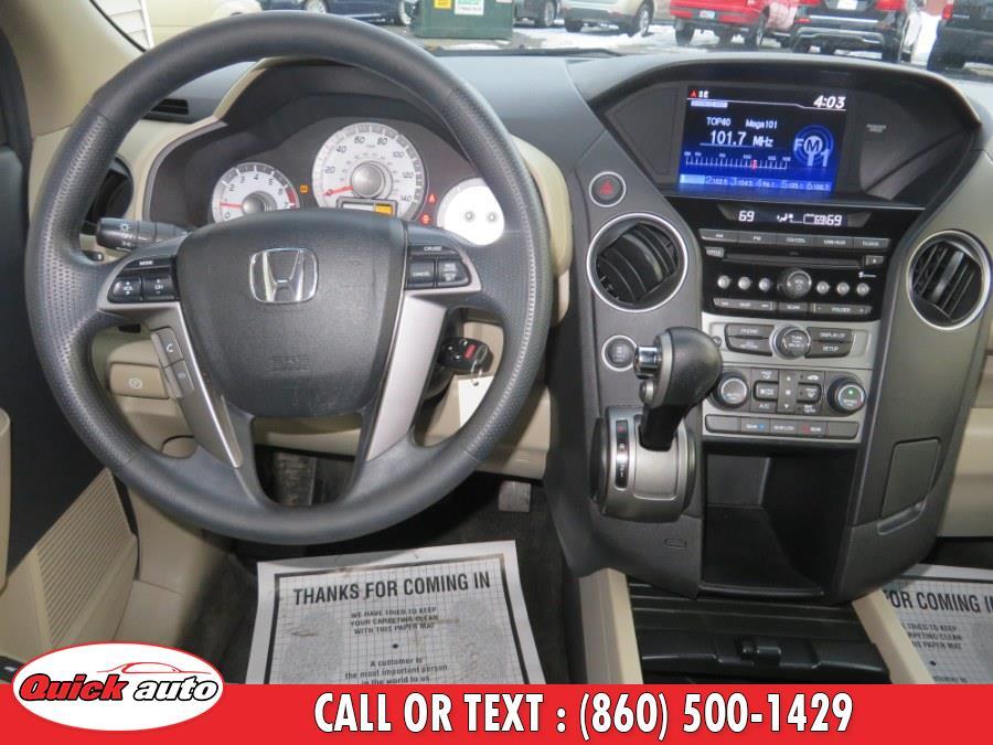 Used Honda Pilot 4WD 4dr EX 2013   Quick Auto LLC. Bristol, Connecticut