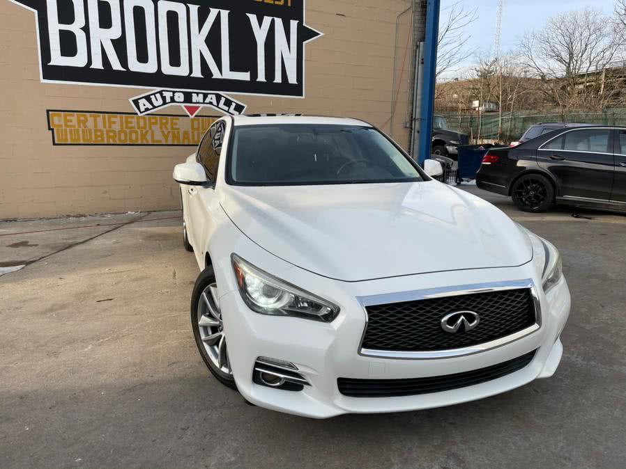 Used INFINITI Q50 4dr Sdn Premium RWD 2014 | Brooklyn Auto Mall LLC. Brooklyn, New York