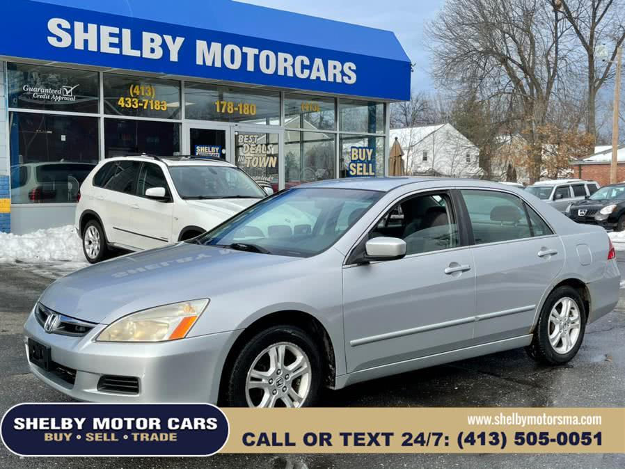 Used 2007 Honda Accord Sdn in Springfield, Massachusetts | Shelby Motor Cars . Springfield, Massachusetts