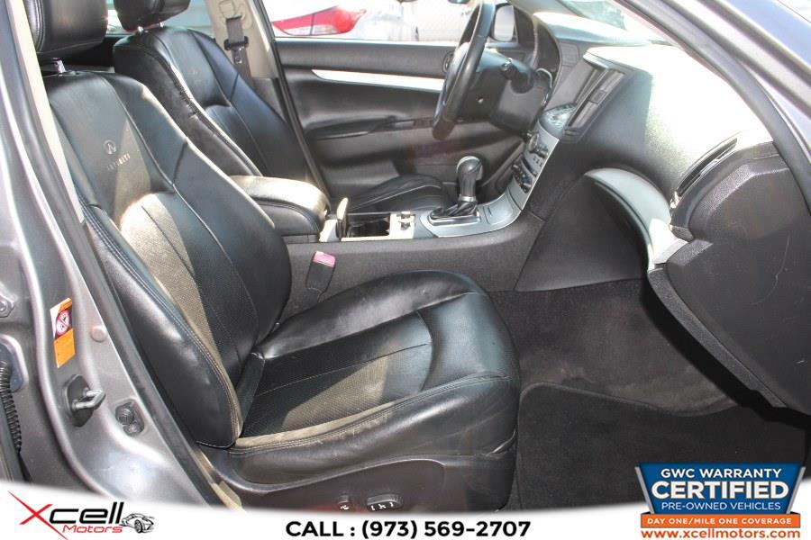 Used Infiniti G37x Sedan AWD 4dr x AWD 2009 | Xcell Motors LLC. Paterson, New Jersey