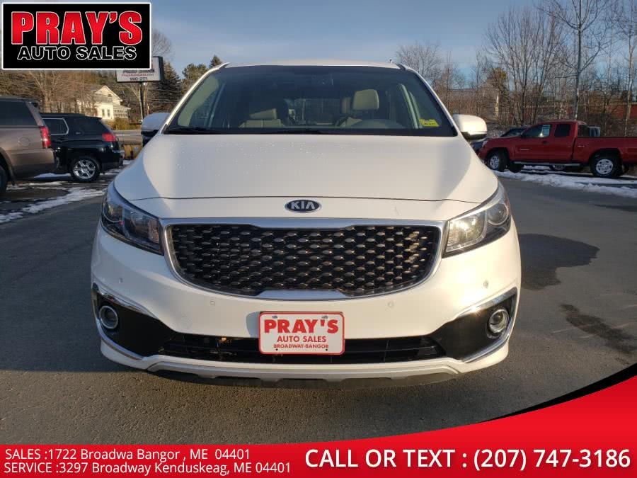 Used 2016 Kia Sedona in Bangor , Maine | Pray's Auto Sales . Bangor , Maine