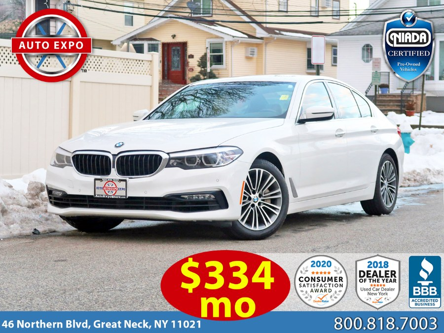 Used 2017 BMW 5 Series in Great Neck, New York | Auto Expo Ent Inc.. Great Neck, New York