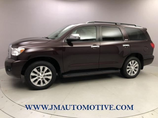 Used Toyota Sequoia 4WD 5.7L Limited 2016 | J&M Automotive Sls&Svc LLC. Naugatuck, Connecticut