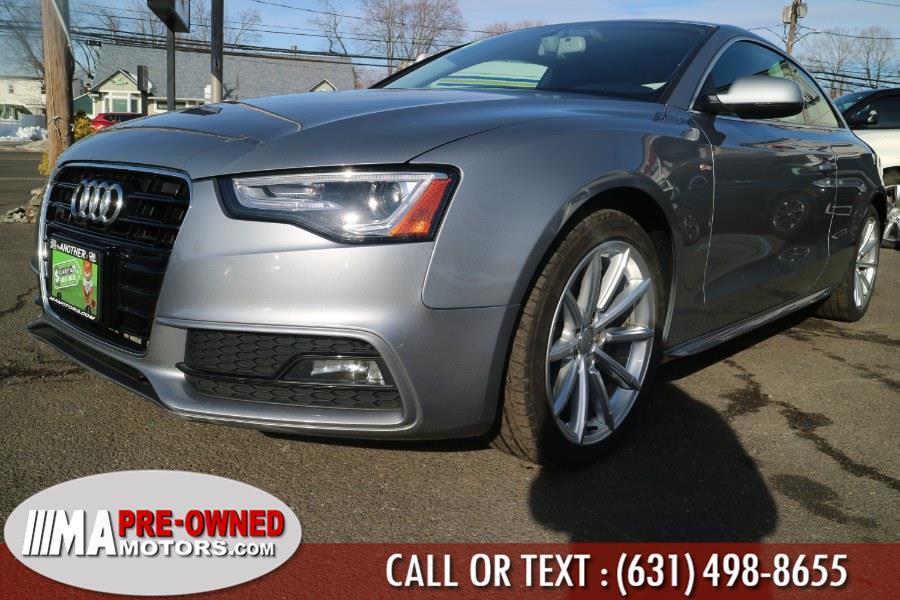 Used Audi A5 2dr Cpe Auto Premium Plus 2016   M & A Motors. Huntington, New York